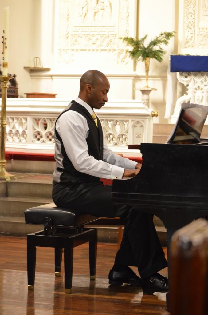 12.06.2012 piano recital at the Advent Lutheran Church, New York NY