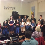 Christmas Music Recital 2014 at Faust Harrison Pianos