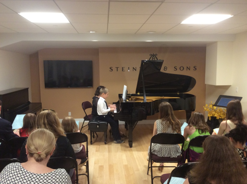 06.19.2015 Music Recital at Steinway Hall, New York NY