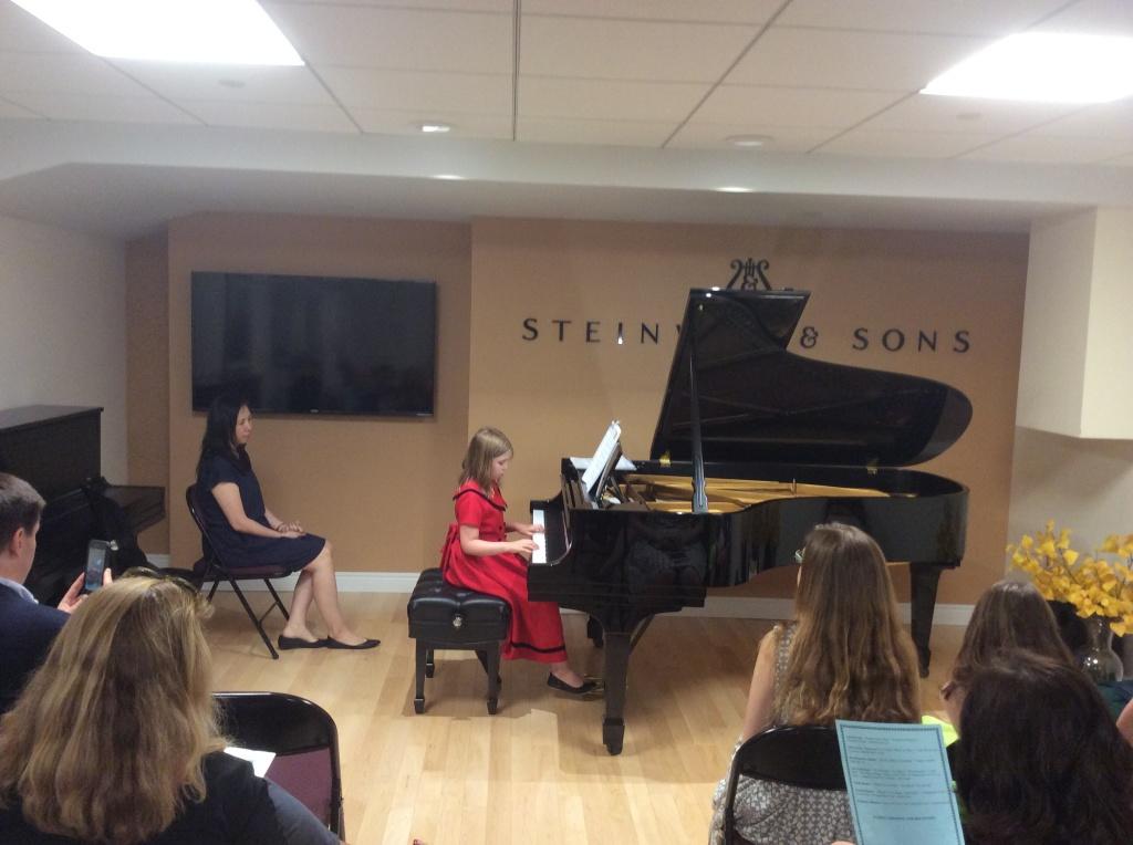 06.19.2015 Music Recital at Steinway Hall, New York NY