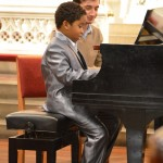 12.06.2012 piano recital at the Advent Lutheran Church, New York NY